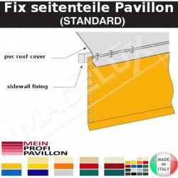 Fix seitenteile Pavillon