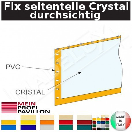 Fix seitenteile Crystal