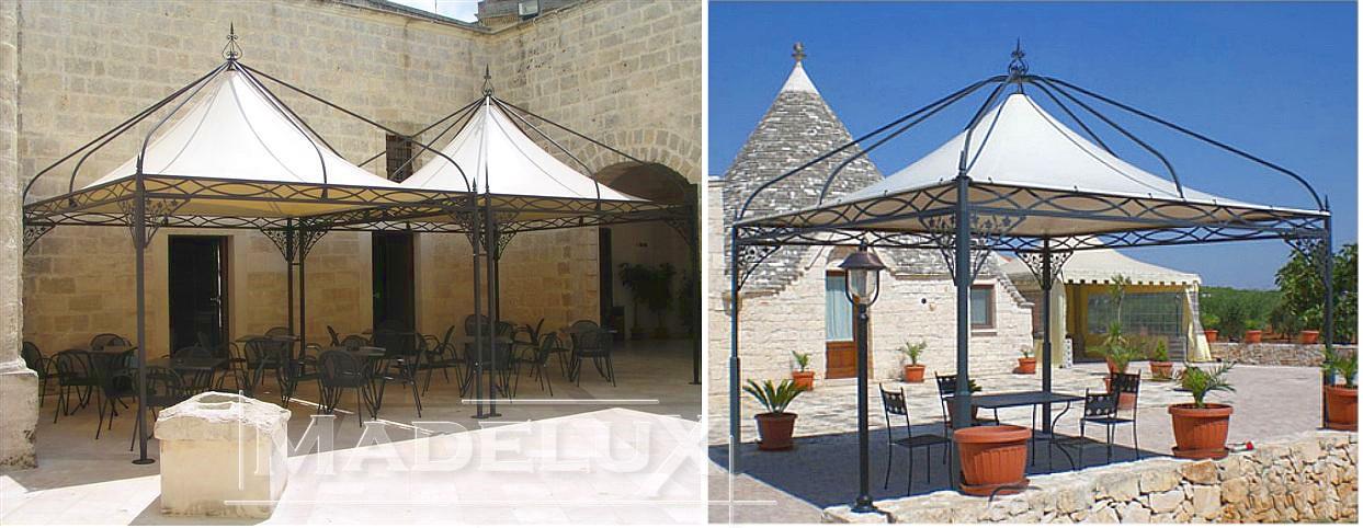Pavillon Pagodenzelte profizelt Gartenzelt Benutzerdefiniert Personalisiert Carport Terrassendach  Faltpergola PVC PROFI_style_liberty