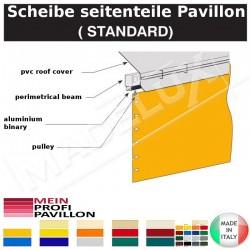 Scheibe seitenteile Pavillon