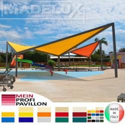 Profi Pavillon GOLD MAXI Plus zertifikat