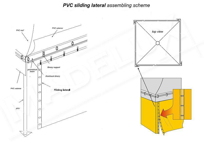sliding sidewall