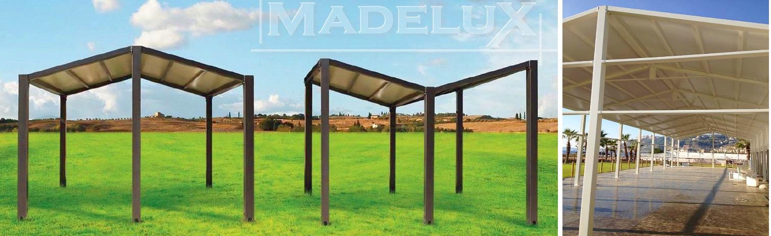 Pavillons können verbunden werden
