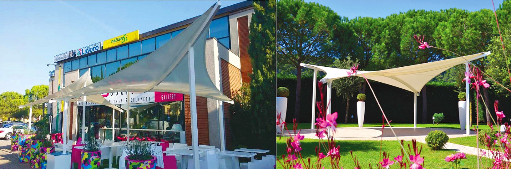 pavillon segel Sonnensegel