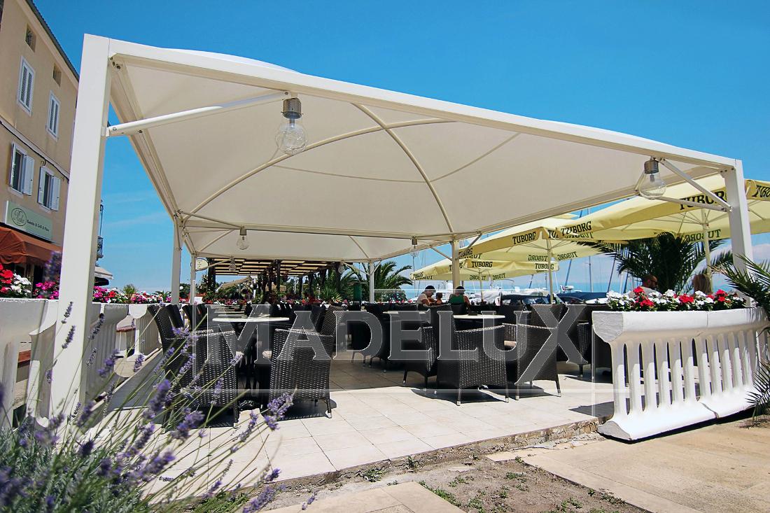 Pavillon Pagodenzelte profizelt Gartenzelt Benutzerdefiniert Personalisiert Carport Terrassendach  Faltpergola PVC PROFI Personalisiert Benutzerdefiniert_frame star maxi